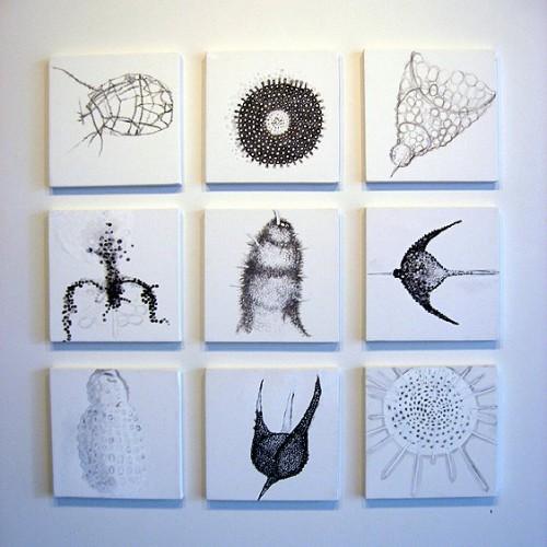 Carolyn Zick Canvas work I