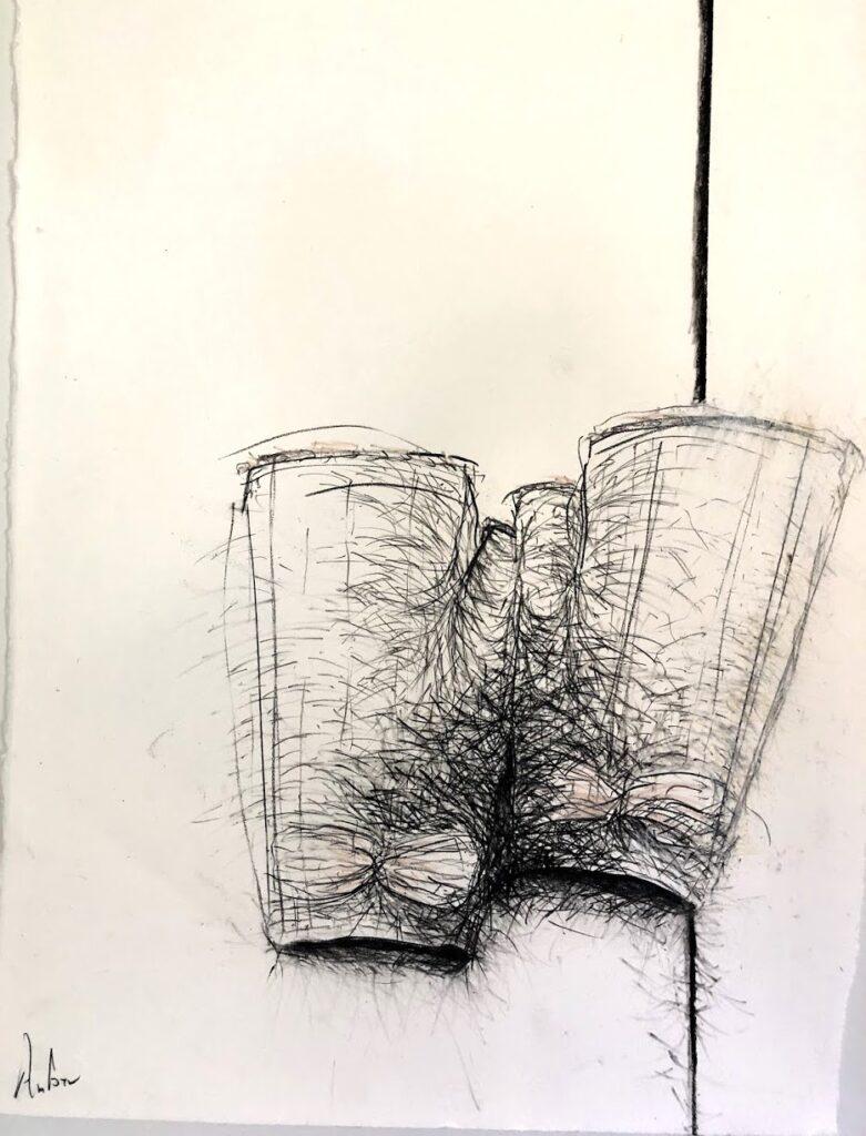 Amber drawing