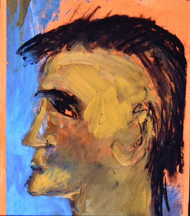 Man with Ochre Cleft